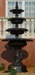 4 tier self contained fountain